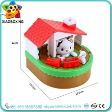 New styles electronic cat and mouse piggy bank for kids
