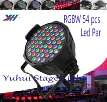 Hot Selling RGBW Led Par 64 3 Watts DMX Stage Light 54x3w Led Par Concert Lighting