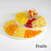 Canned Mixed Fruit with Fresh Raw Material Fruit