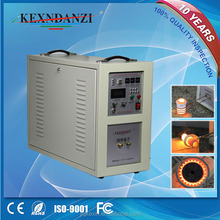Hot sale CE certificated 380V 35kw high frequency induction glass melting furnace