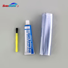 Waterproof polyurethane adhesive sealant for pvc leak repair