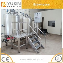 sanitary 200l 300l 500l 1000l used beer manufacturing plant for pub/restaurant