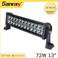 4d reflector offroad led light bar 3d optics led light bar for 4x4 off road cars