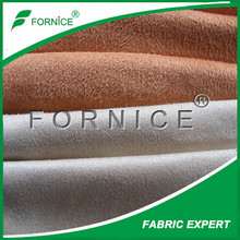 90 polyester 10 spandex fabric / suede fabric