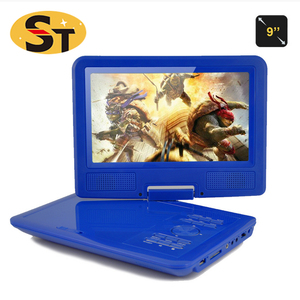 Mini 9.0 inches DVD player portable , Portable DVD Player with digital TV Tuner