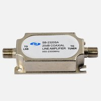 Satellite IF Signal Amplifier/tv combiner