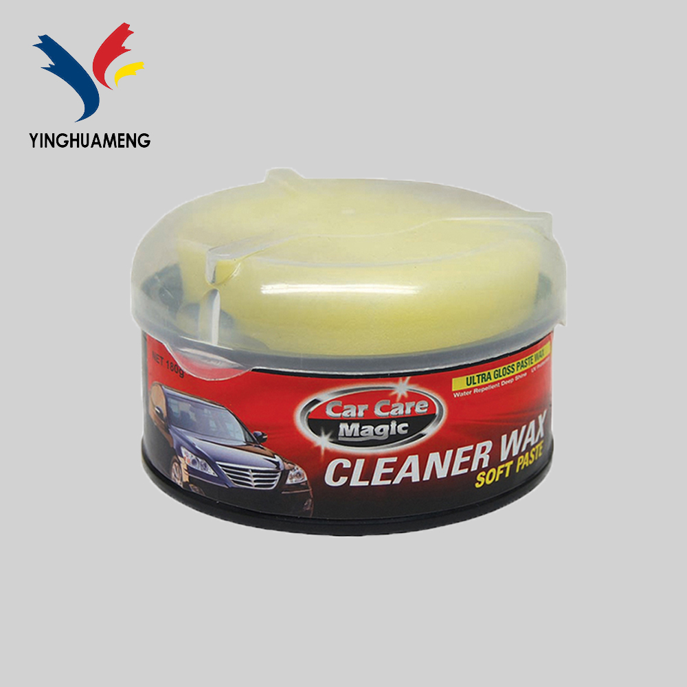 Best car polish and wax Carnauba Car Wax coating wax 180g car care products OEM available