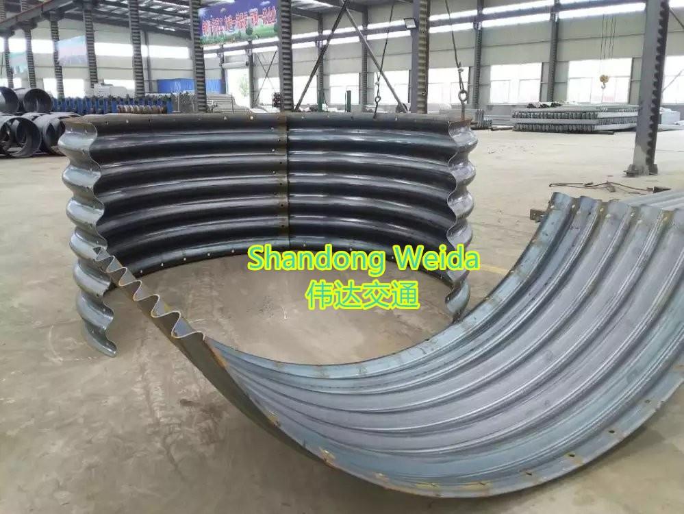 Factory Direct Sale Galvanized Corrugated Steel Road