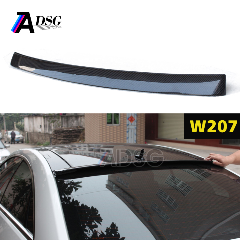 W207 C207 carbon fiber roof spoiler for Mercedes E class <strong>10</strong>+