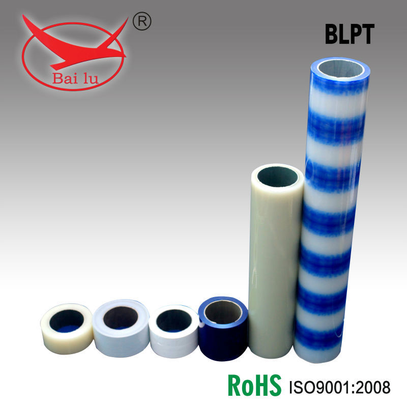 Protective PE film for aluminum profile and window profile