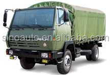 CNHTC HOWO military cargo truck chassis good suspension 4x4 for sale