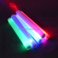 2015 Best Selling Multicolor foam led stick Lighted Up LED Flashing Foam Stick For Event & Party/Concert/Promotion