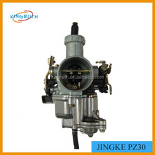 2016 High quality pz30 jingke motorcycle carburetor with boot pump plunger