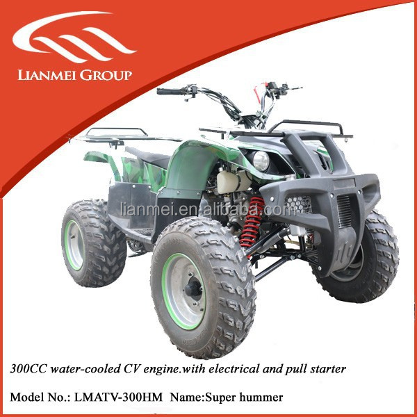 300cc hummer ATV CVT transmission adult four wheelers