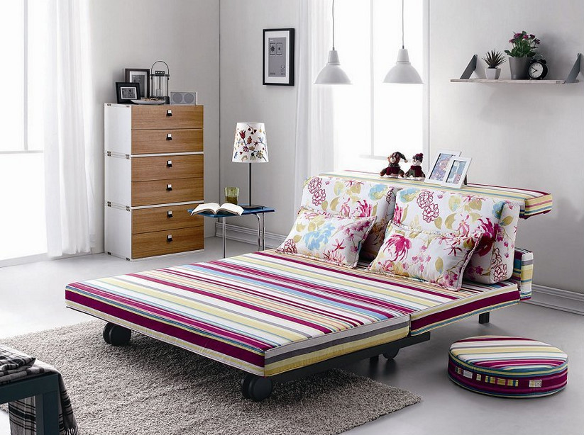 new design sofa cum bed with wheels folding sofa bed living room rh alibaba com Loft Bed with Sofa Murphy Bed Sofa Combination