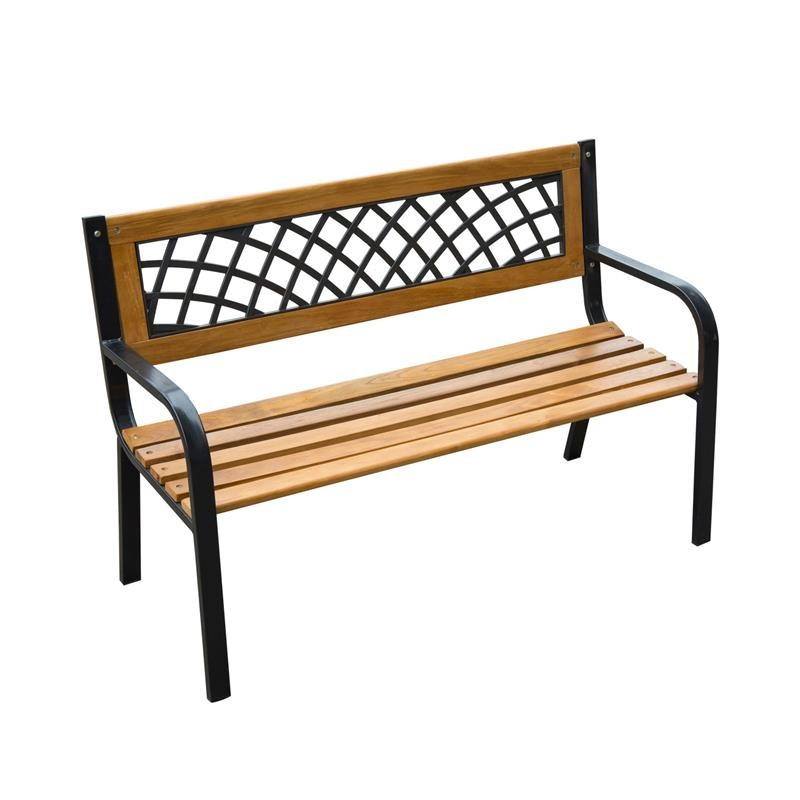 "47"" Modern Outdoor Patio Garden Benches"