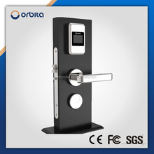 Stainless Steel swipe key card hotel door lock