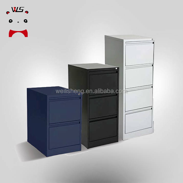 Steel Metal 3 Drawer Colorful File Cabinet/High Quality Solid 4 Drawer File Cabinet With Drawer