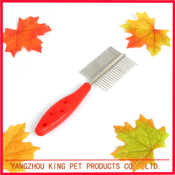 Best selling high end eco friendly metal teeth pet comb dog product