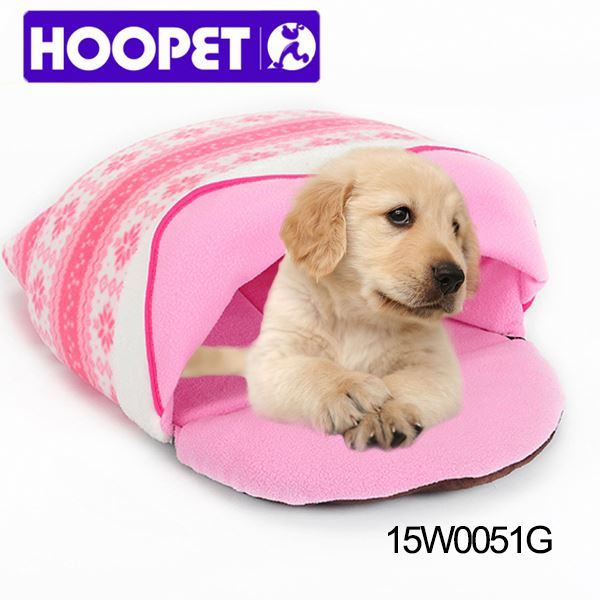 Popular Hoopet pink pet house cat & dog bed for great dane
