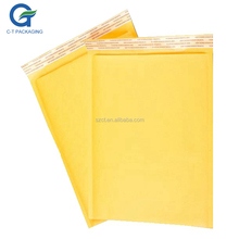 Air Bubble Cushioned Kraft Envelope Craft Bubble Padded Mail Lite Jiffy Bags With Logos