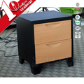 STEELITE Hot Sale Metal Transfer Graining Nightstand Bedside Table Design