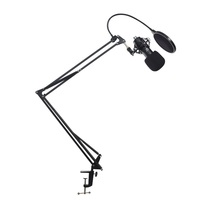 Articulated Microphone Stand for singing , recording songs and broadcast