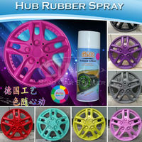 400ML/Bottle Removable Acrylic Type Rose Spray Hub Rubber Wheel Car Paint