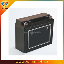 lead acid maintenance free 12v 7ah electric motorcycle battery
