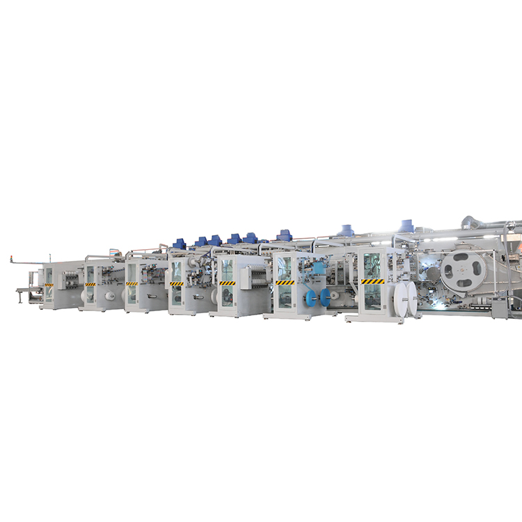High quality pull up pant machine baby diaper manufacturing machine