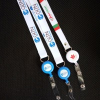 ID Holder Retractable Badge With Lanyard