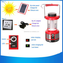 rechargeable Solar Led Camping Lantern with mobile phone charger