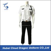 China supplier unisex security guard uniform wholesale