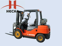3.5 ton LPG /gasoline forklift truck with Nissan K21/25 engine China cheap price
