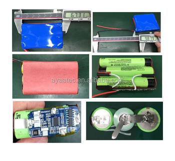 18650 3S1P 10.8V 3.4AH rechargeable battery for lithium battery pack with best price