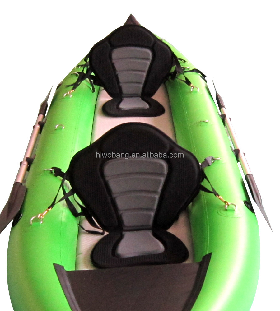 2 persons Made in China pvc material foldable inflatable kayak for sale