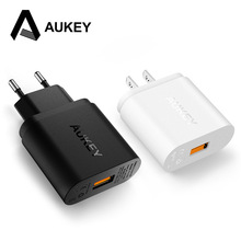 AUKEY Quick Charge 2.0 Smart Fast Mobile Phone Charger For Phone