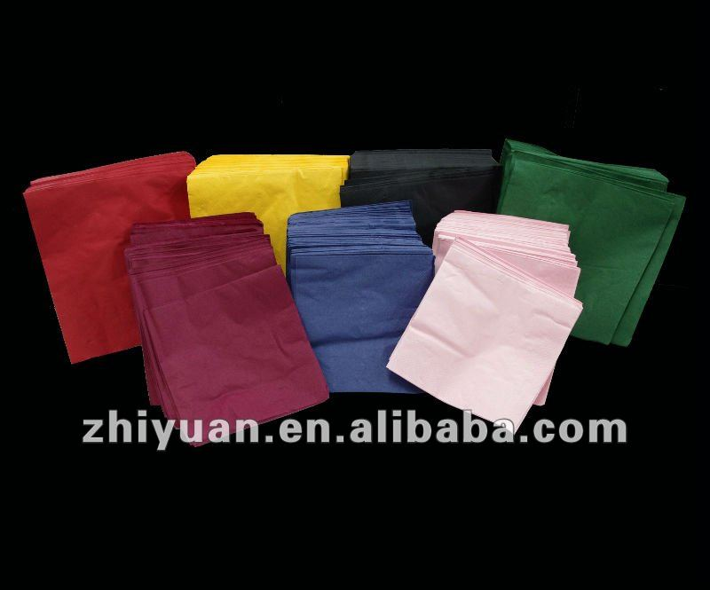 Solid Colour Paper Napkin --- Multi