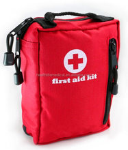 Small First Aid Kit for Hiking, Backpacking Waterproof Laminate first aid Bag