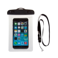 "5"" PVC Waterproof Diving Dry Bag Underwater Waterproof Pouch Case Cover for iphone 4 / 4S / 5 / 6 / 6S for Samsung S3 /S4 /S5"