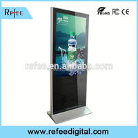 Widespread used 47 inch lcd monitor wholesale, POP floor stand display, LCD TV advertising display