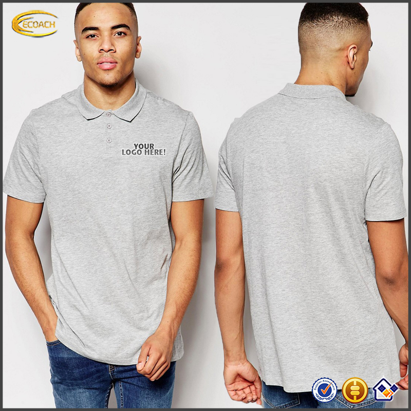 Ecoach 2017 T-shirt Wholesale China Men's Knitwear 100% Cotton Polo Shirt Bulk Men Polo Shirts