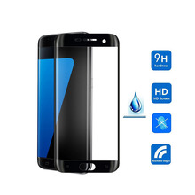 High quality cover anti-scratch mobile phone tempered glass screen protector for Samsung Galaxy note 7