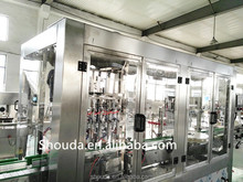 Food industry full automatic garlic oil bottle Filling and capping machine