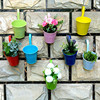 Iron Metal Wall Flower Pot Planters