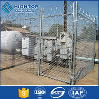 black removable chain link temporary fence