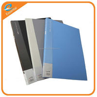 Best factory price new A4 plastic file folder/clear book/display book