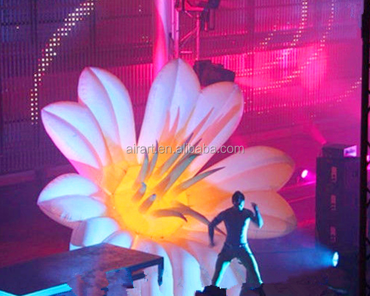 festival decor inflatable lily flowers