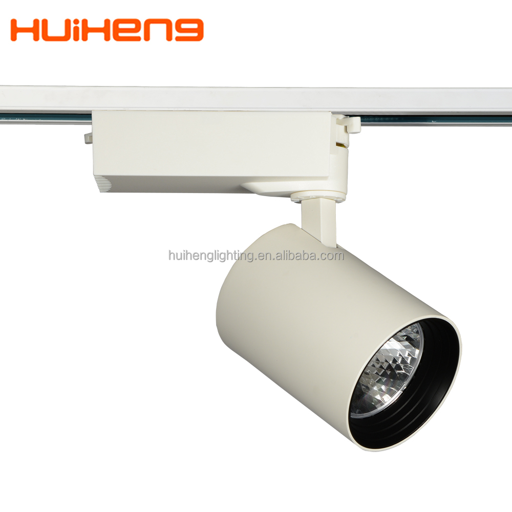 Dimmable 110v cob led track light fitting 20w for shop