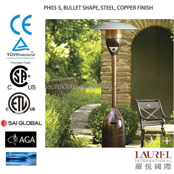 Bullet Shape Gas Patio Heater